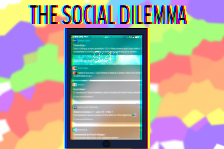 The Social Dilemma depicts the dangers of social media.