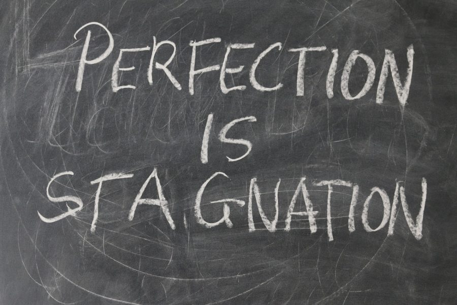Perfection is stagnation: true or false? Let's talk about it.