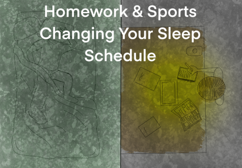 Many students are up all night due to homework and busy schedules.