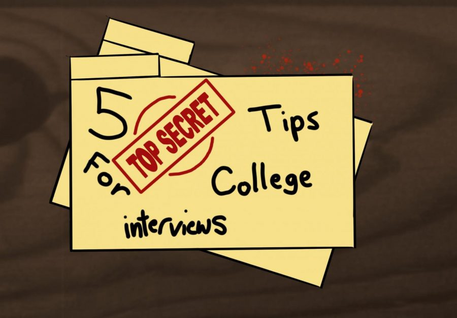 Five secret tips to ace your college interviews