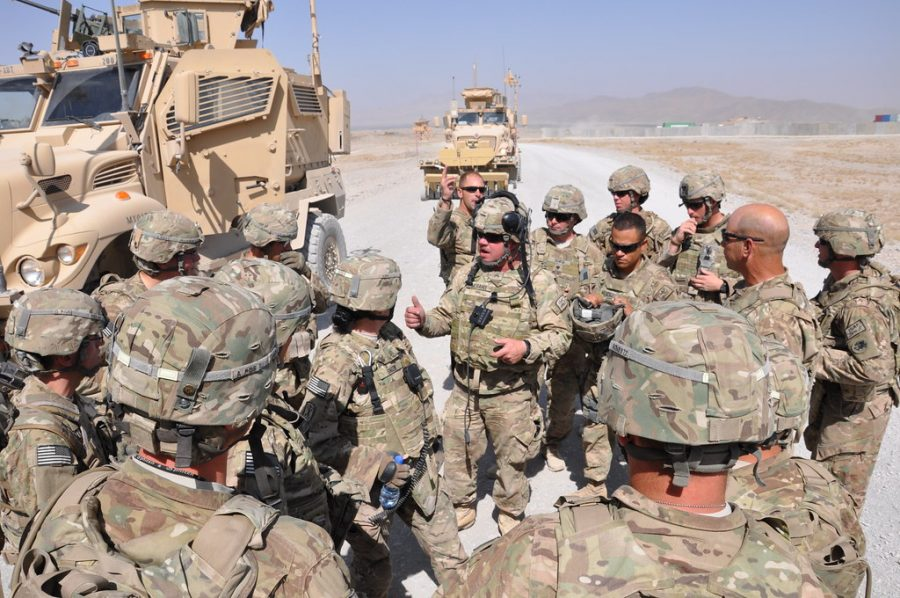 US soldiers attempted to rebuild Afghanistan to no avail.