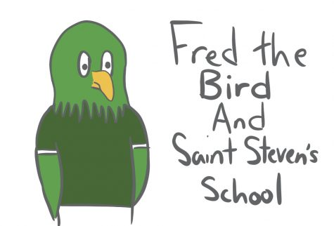 Comic: Fred the Bird and The Saint Steven's School